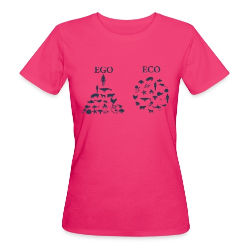 Ego VS Eco - T-shirt ecologica da donna