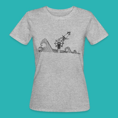 Carta_timone-png - T-shirt ecologica da donna