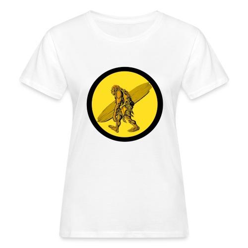 TROGLO SURF - T-shirt ecologica da donna