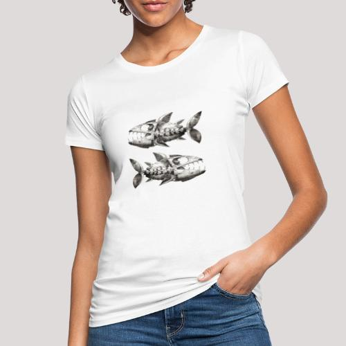 FishEtching - Women's Organic T-Shirt