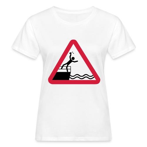 Bitte kein Bier Verschütten! - Frauen Bio-T-Shirt