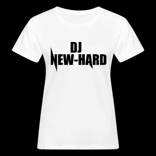 DJ NEW-HARD LOGO - Vrouwen Bio-T-shirt