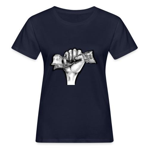 Puño Dolar - Camiseta ecológica mujer