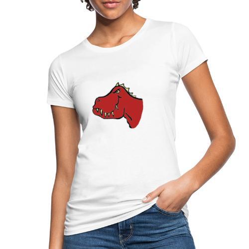 T Rex, Red Dragon - Women's Organic T-Shirt