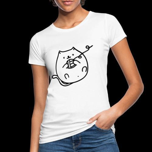 classic fat cat - Frauen Bio-T-Shirt