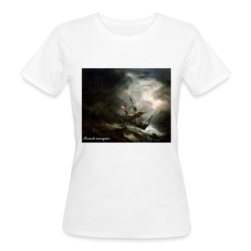 T-shirt French marquis Storm - T-shirt bio Femme