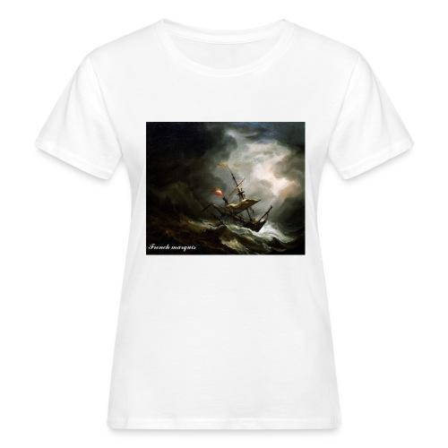 T-shirt French marquis Storm - T-shirt bio Femme