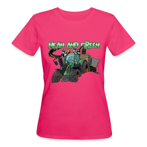 F 718Vario mean and green - Vrouwen Bio-T-shirt