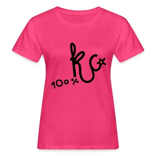 100%KC - Vrouwen Bio-T-shirt