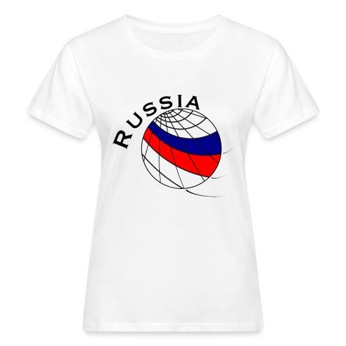 Russland Fußballmotiv - Camiseta ecológica mujer