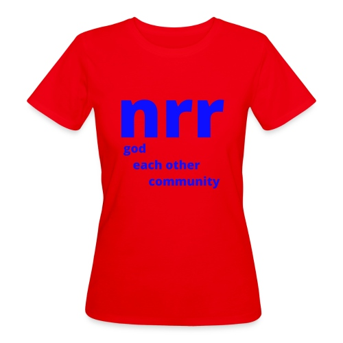 NEARER logo - Women's Organic T-Shirt