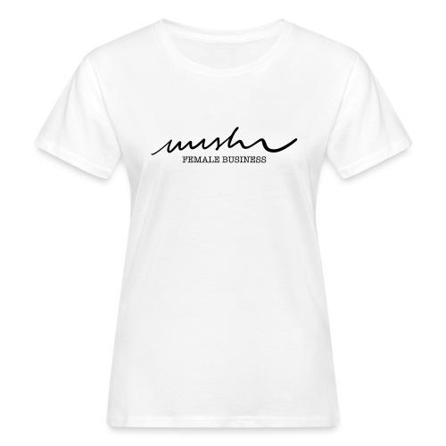 nushu Female Business /white - Frauen Bio-T-Shirt