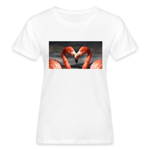 flamingo - Frauen Bio-T-Shirt