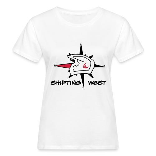 Shifting West Logo vector - Vrouwen Bio-T-shirt