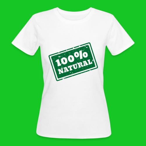 100% natural PNG - Vrouwen Bio-T-shirt