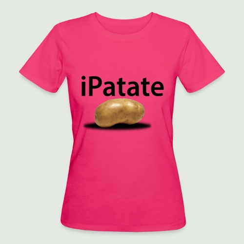 iPatate - T-shirt bio Femme