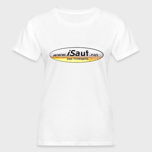 iSauf Logo - Frauen Bio-T-Shirt