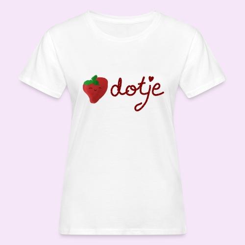 Baby aardbei Dotje - cute - Vrouwen Bio-T-shirt