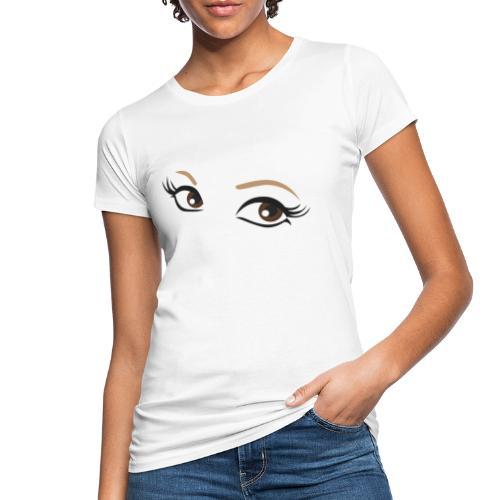 oczy - Ekologiczna koszulka damska