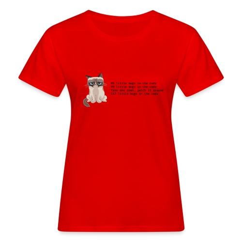 99 litle bugs of code - Vrouwen Bio-T-shirt
