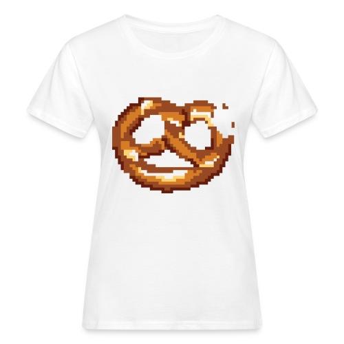 Breze mit Biss - Frauen Bio-T-Shirt