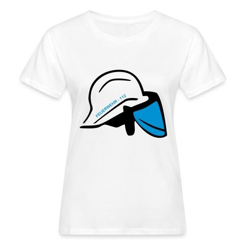 Feuerwehr Helm - Frauen Bio-T-Shirt
