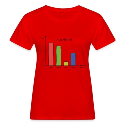 Vita perfetta - T-shirt ecologica da donna