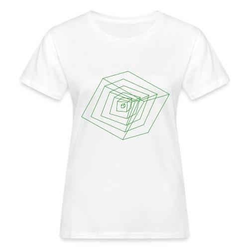 Cubes - T-shirt bio Femme