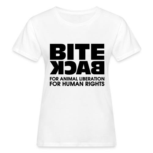 Bite Back logo - Vrouwen Bio-T-shirt