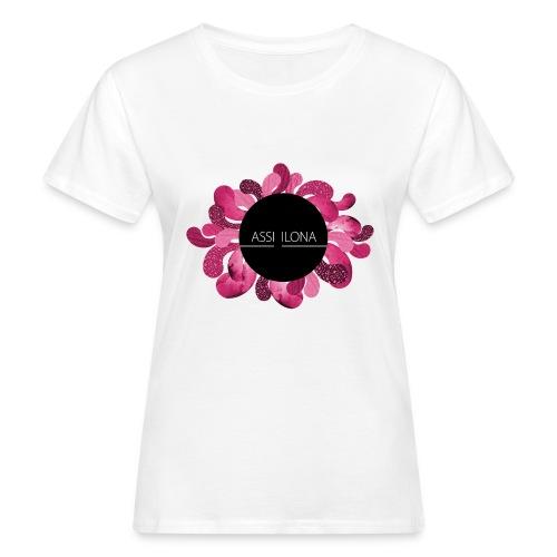 Miesten t-paita punainen logo - Naisten luonnonmukainen t-paita