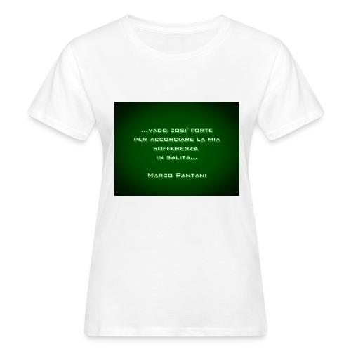 Citazione - T-shirt ecologica da donna