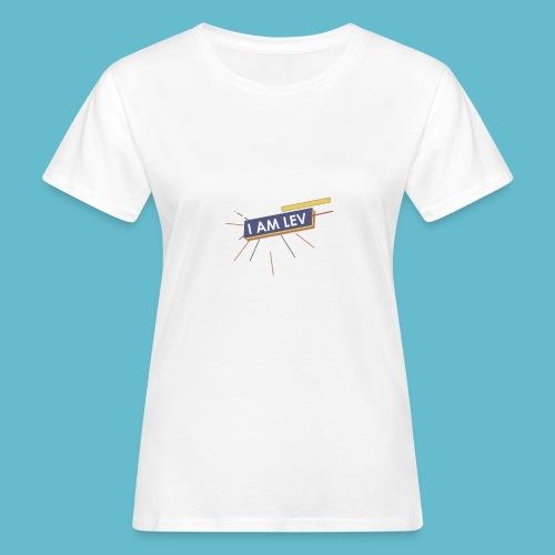 I AM LEV Banner - Vrouwen Bio-T-shirt