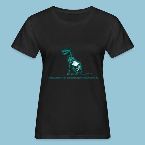 T-shirt pour homme imprimé Chien au Rayon-X - T-shirt bio Femme