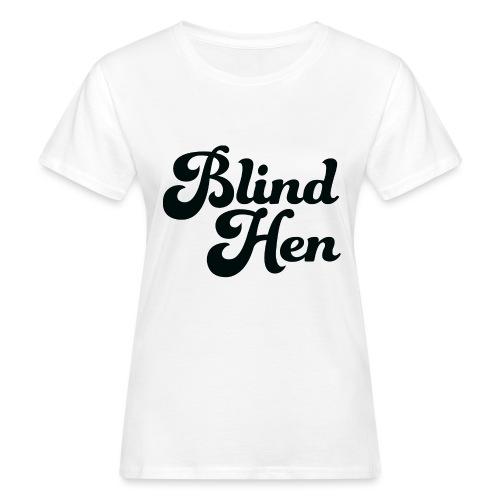 Blind Hen - Logo Lady fit premium, blue - Women's Organic T-Shirt