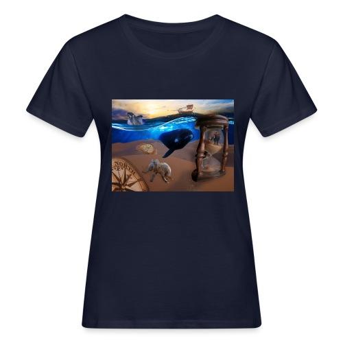 Wodne Przemyślenia - Ekologiczna koszulka damska