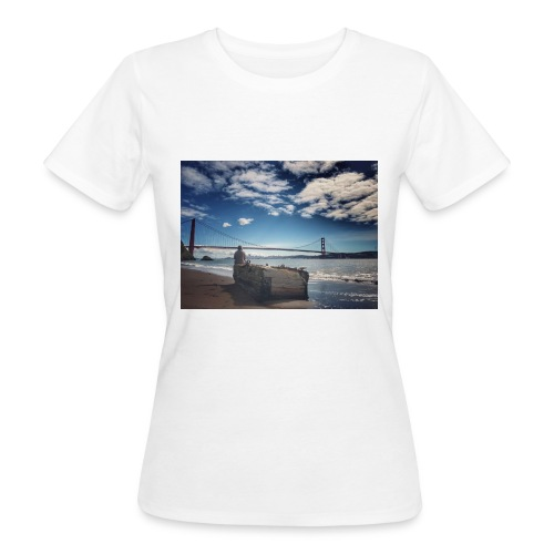 poncio - Camiseta ecológica mujer