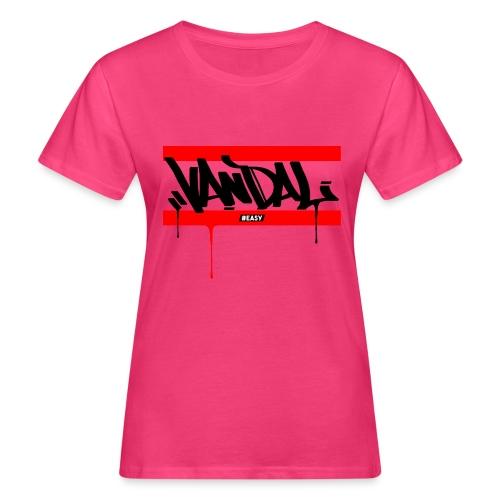 #EASY Graffiti Vandal T-Shirt - T-shirt ecologica da donna