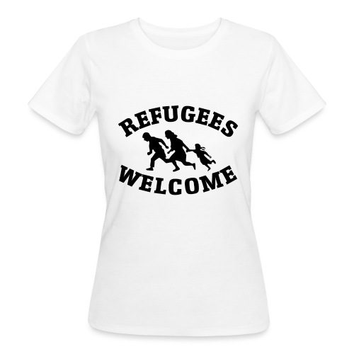 Refugees Welcome - T-shirt bio Femme