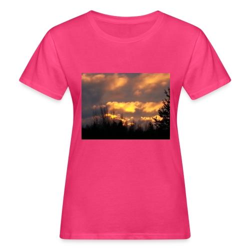 Iltarusko - Naisten luonnonmukainen t-paita