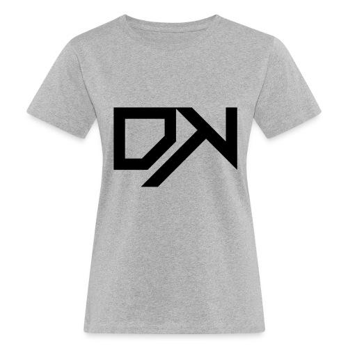 DewKee Logo Cap Black - Women's Organic T-Shirt