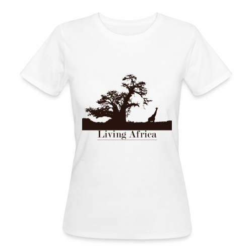 Ultimate_Living_Africa-png - T-shirt ecologica da donna