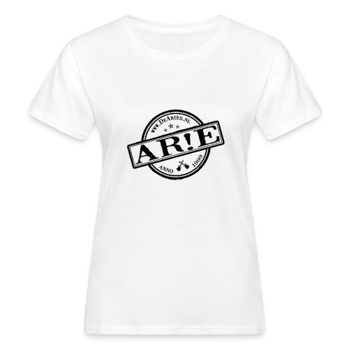 Backdrop AR E stempel zwart gif - Vrouwen Bio-T-shirt