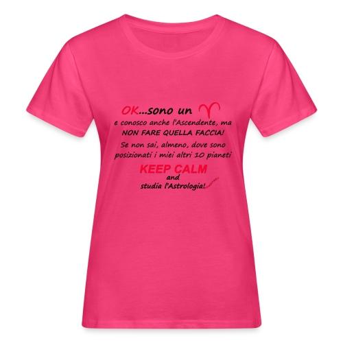ARIETE - T-shirt ecologica da donna