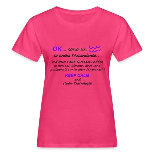 ACQUARIO - T-shirt ecologica da donna