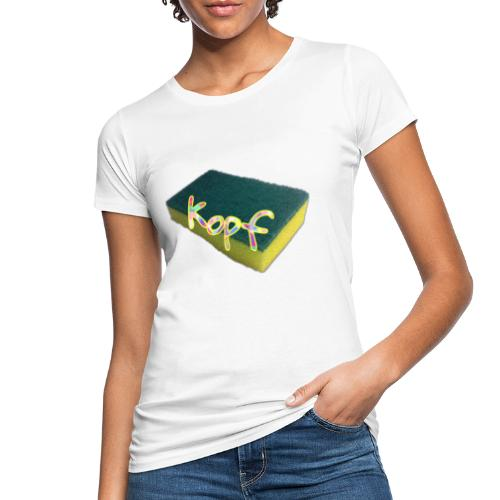 Schwamm-kopf - Frauen Bio-T-Shirt