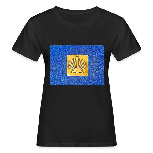 Scallop Shell Camino de Santiago - Women's Organic T-Shirt