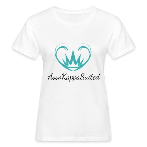 AssoKappaSuited - T-shirt ecologica da donna