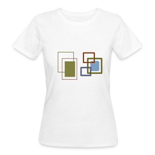 Quadratisch - Frauen Bio-T-Shirt
