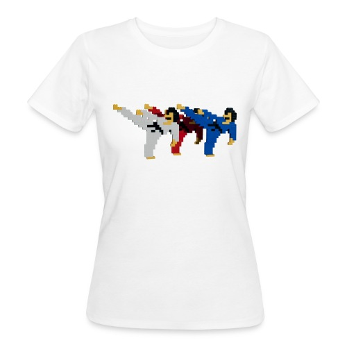 8 bit trip ninjas 2 - Women's Organic T-Shirt