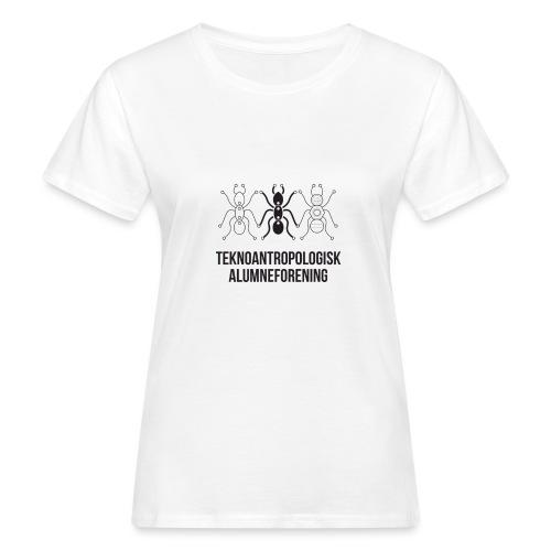 Teknoantropologisk Støtte T-shirt figur syet - Organic damer